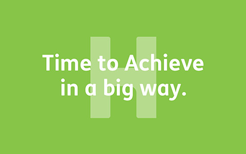 Time to Achieve in a big way.